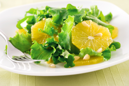 Sicilian lemon salad