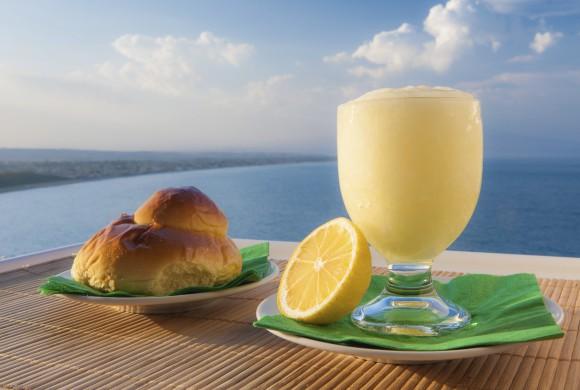 Sicilian lemon granite