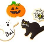 Biscotti fantasmini di Halloween