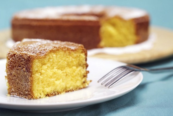 Coconut and Lemon Cake