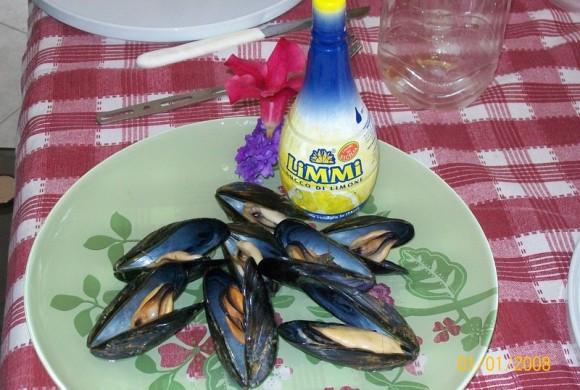 Lemon Flavored Mussels