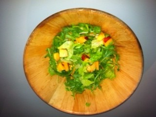 Fruit and Salmon Salad