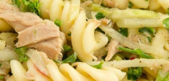 Zucchini, Tuna and Lemon Pasta Salad