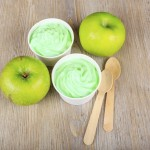 Green Apple and Lemon Sorbet