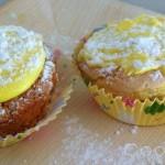 Muffin alla crema di limone