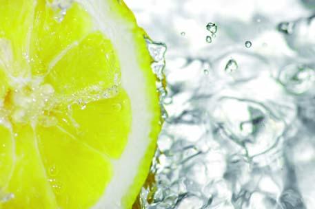 Depurati profondamente con acqua e succo di limone