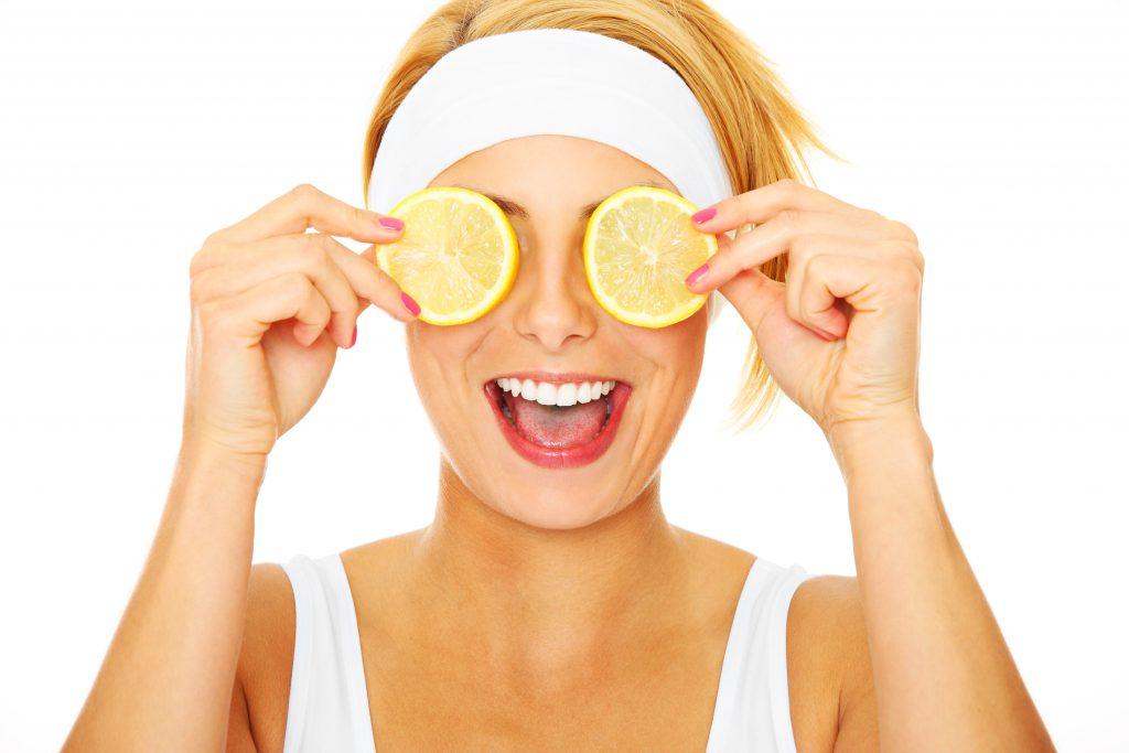 occhiaie e limone