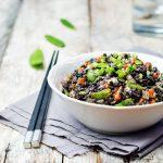 Venus Rice and Guacamole Salad