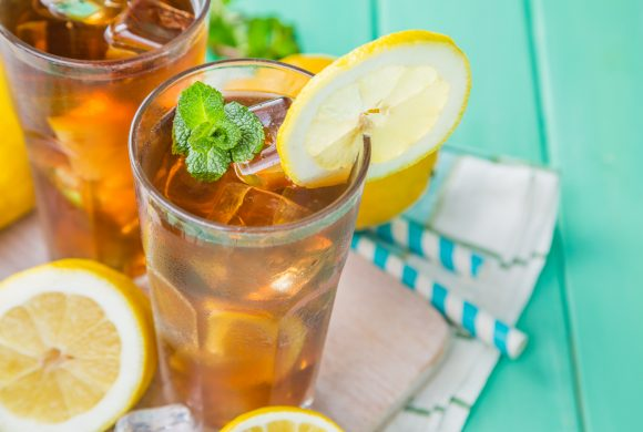 Lemon Iced Tea in 3 steps